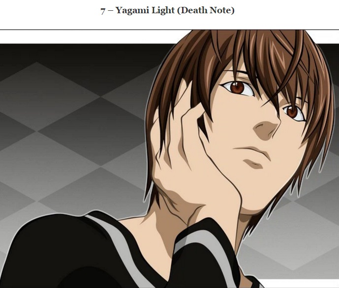 Yagami Light (Death Note)